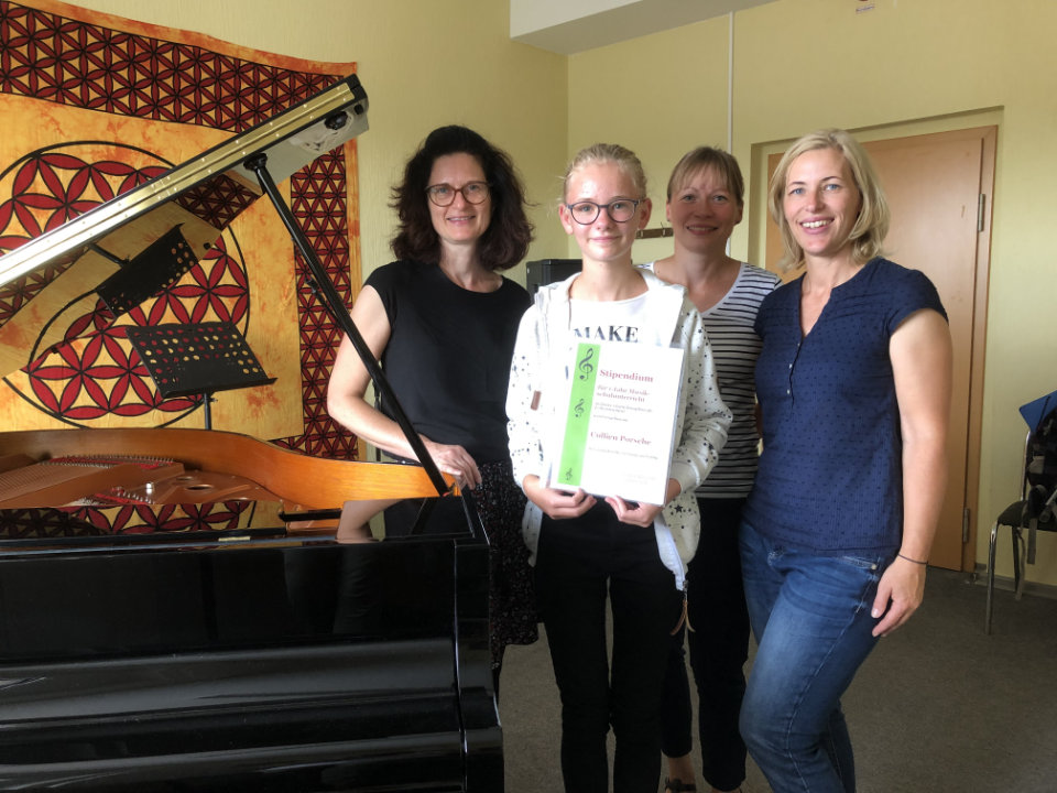 Musikschule Finsterwalde vergibt Stipendien